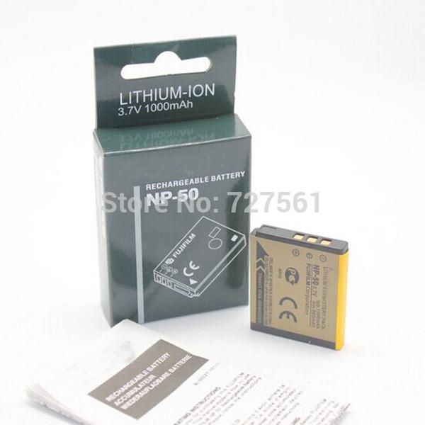 Гаджет  NP-50 FNP50 NP50 Battery for Fujifilm X10 X20 XF1 F50 F75 F665 F775 F900 EXR F505 F305 F85 F200 F100 Batteries bateria celular None Электротехническое оборудование и материалы