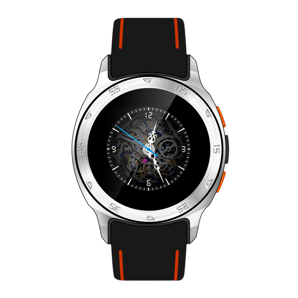 2015 ZGPAX S7 Smart Watch Bluetooth Phone Android 4.4 MTK6572 Dual Core GPS Waterproof Wifi Orange New(China (Mainland))