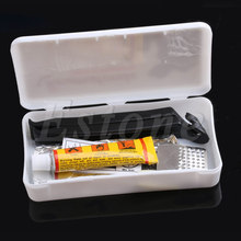 1set Cycling Bicycle Bike Repair Fix Kit Flat Rubber Tire Tyre Tube Patch Glue Hot New Arrival(China (Mainland))