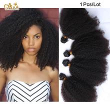 Mongolian kinky curly virgin human hair weave 50g 1pcs lot 100% unprocessed mongolian curly hair natural color can be dye