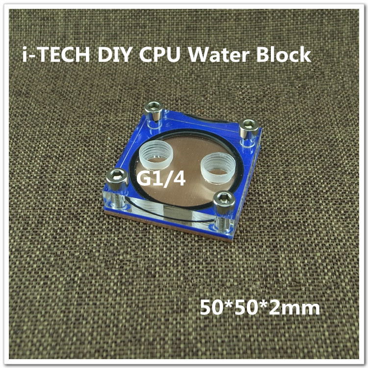 i-TECH DIY CPU Water Block Support All-Platform For Coumputer Water Cooling For DIY Player(China (Mainland))