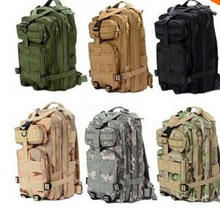 2015 Hot Sale Men Women Unisex Outdoor Military Tactical Backpack Camping Hiking Bag Trekking Sport Rucksacks