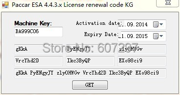 The latest forPaccar ESA Electronic Service Analyst v4.4.3-4.4.6 keygen unlock