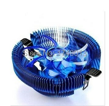 Free shipping 90MM 4pin DC 12V LED Ultra silent cpu radiator cooler fan CPU Fan for