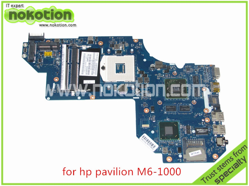 laptop motherboard for hp pavilion M6 M6-1000 QCL50 LA-8711P 686930-001 690293-001 HM77 ATI HD 7670M 2GB DDR3