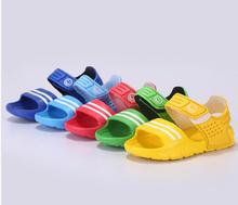 Estate dei bambini sandali antiscivolo resistente ragazzino sandali casuali ragazzi ragazze scarpe da bambino sandali estivi(China (Mainland))