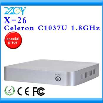 The highest ratio of mini pc station ncomputing thin client XCY X-26 no noise less heat