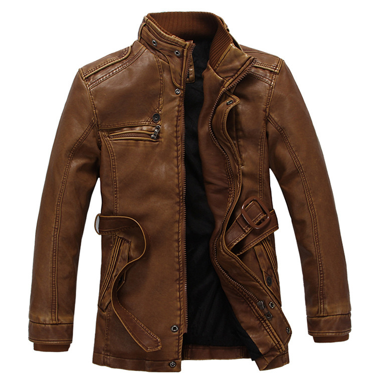 Man Lether Jackets Pu Leather Jaqueta Masculinas Inverno Couro Jacket Men Jaquetas Couro Men's Winter Leather Jacket(China (Mainland))