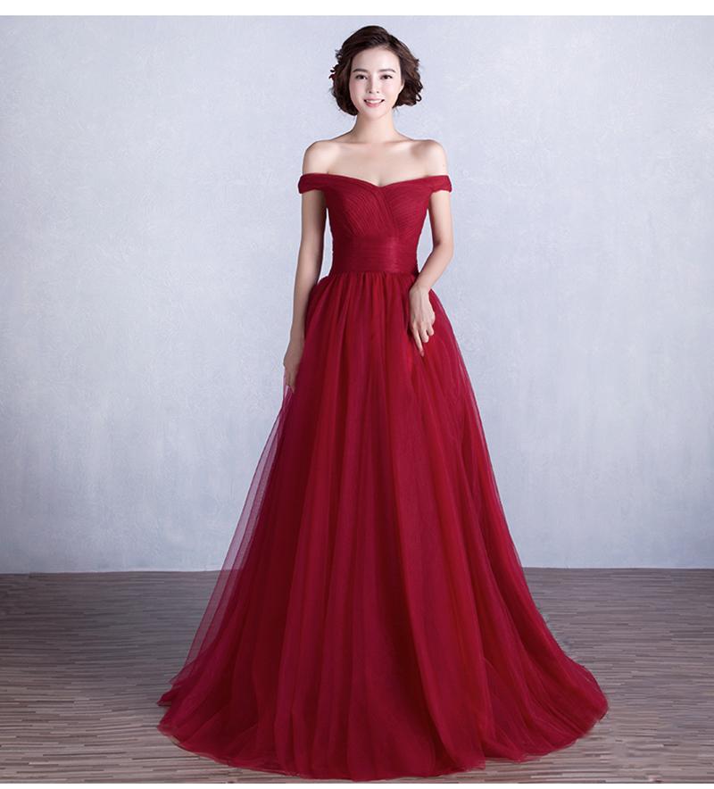 Midi Dress - Solid Color Pleated / Three-Quarter Sleeve