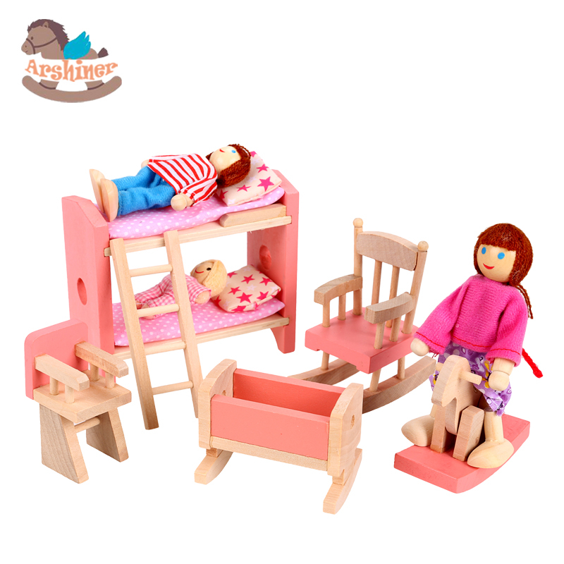 kid room bedroom toys toy girls room model building kits room set toy