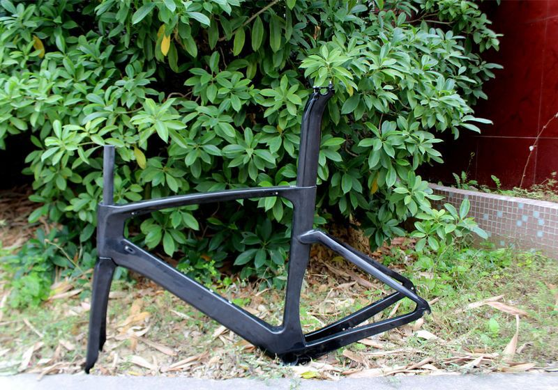 700C Aero Top Quality carbon TT bike frame, carbon fiber track bike frame(China (Mainland))
