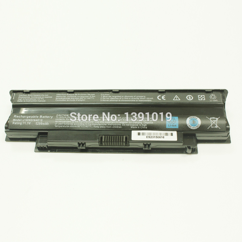 New Laptop Li-Ion Battery For Dell J1KND N4010 N5010 N4050 N5110 N4110 Rechargeable Battery 5200mAh 11.1V 6 Cell<br><br>Aliexpress