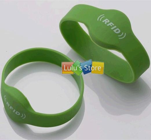 EM4305 125Khz RFID Readable & Writable Rewrite Proximity ID silicone wristband - Camel Technology Co., Ltd. store