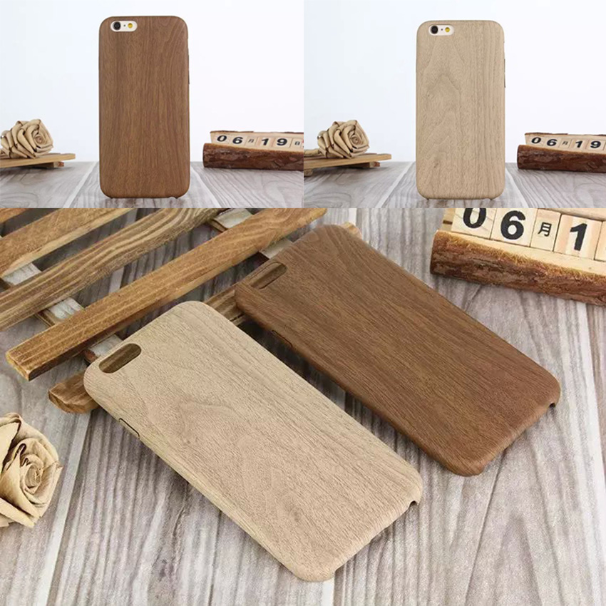 Cell phone Case For iphone 5 5s SE 6 6s plus Cover Leather Soft Slim Ultra thin Retro Wood Style Shell For apple 6plus 6splus 5g(China (Mainland))