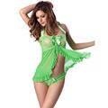 Free Ship Plus Size Lingerie XXL Fantasias Sexy Erotic Baby Doll Lenceria Erotica Ladies Underwear Sets