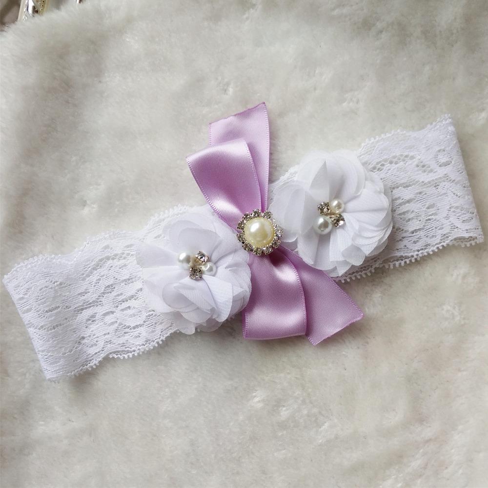 hot sexy vintage 1 pair bridal lavender ribbon wedding garter toss