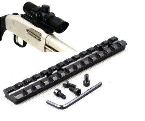 Гаджет  Mossberg Shotgun 500 / 590 / 835 Weaver / Picatinny Scope Mount Rail 13 Slots M0014 None Спорт и развлечения