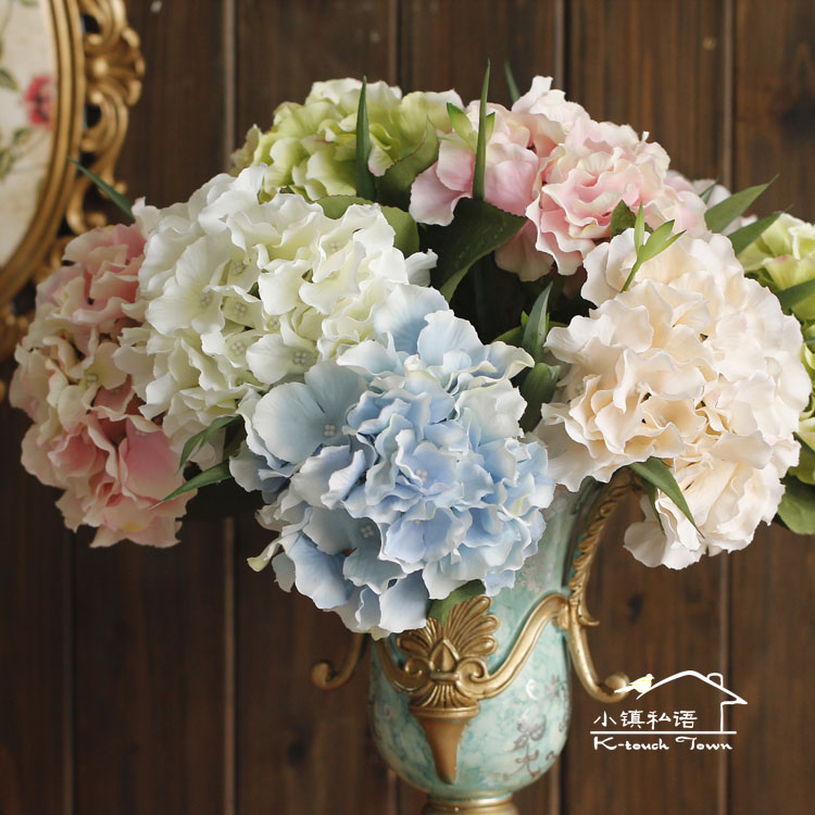 2015 european style silk flowers fashion home decor Artificial flower decoration for home