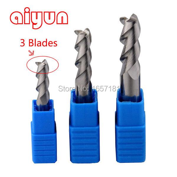 4x6x11x55mm 3 Flute HSS &amp; Aluminium End Mill Cutter CNC Bit Hard end milling cutter CNC milling CNC Tool drill bit<br><br>Aliexpress