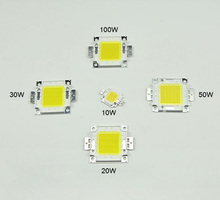 Super bright DIY led lamp beads 10W 20W 30W 50W 100W high power Chip for LED Floodlight lamp white / warm white outdoor lighting