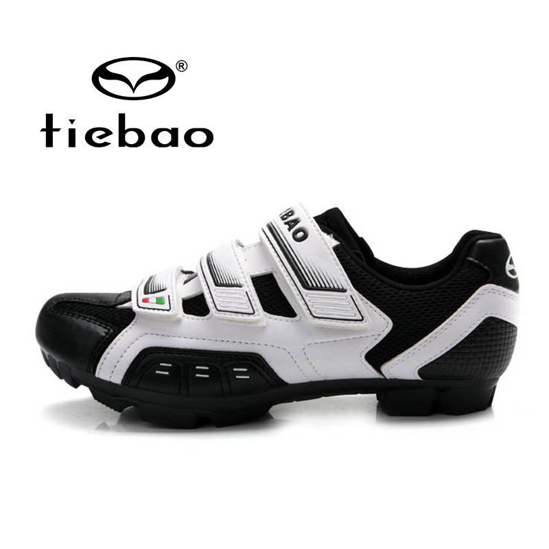 TIEBAO Professional MTB Mountain Bike Self-Locking Shoes Bicycle Cycling Men Women Nylon-fibreglass Sole Athletic - Top-touch Technology Co.,Ltd store