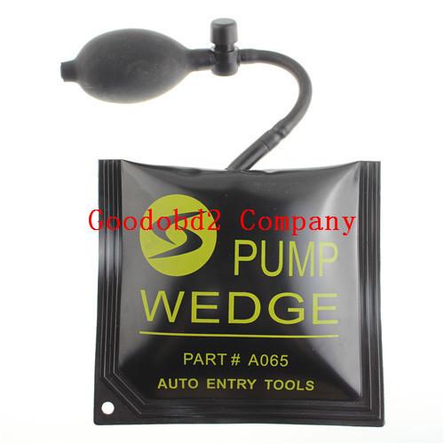 100% Brand new Whole Sale diagnostic tool pump wedge KLOM black Medium Auto Air PUMP WEDGE Locksmith Tool 5 pcs/bag