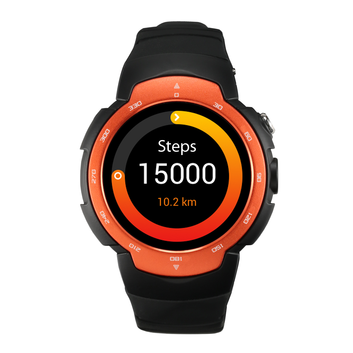 Health Electronics Sport Android 5.1 Bluetooth Smart Watches with Heart Rate Monitor WIFI GPS Smartwatch for Android ISO Phone(China (Mainland))