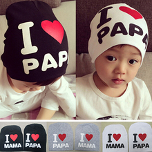 Good Baby Infant Kid Boy Girl hat  Love Heart Soft Warm Hat Knitted Cap Cotton Beanie