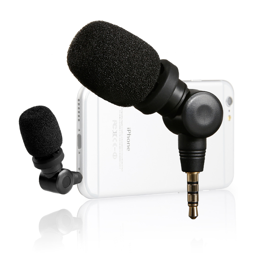 Saramonic iMic Flexible Microphone with High Sensitivity for Apple ipad iPhone 4 4s 5 6 6Plus iPod Touch(China (Mainland))