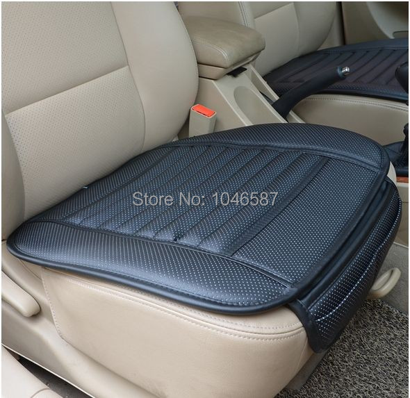 Summer cool car supplies Car seat covers, spring premium car seat cushion Pad bamboo charcoal leather monolithic seat cushion(China (Mainland))