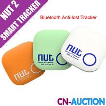 New Arrival Nut 2 Smart Tag Bluetooth Tracker Child Bag Wallet Key Finder GPS Locator Alarm 3 Colors
