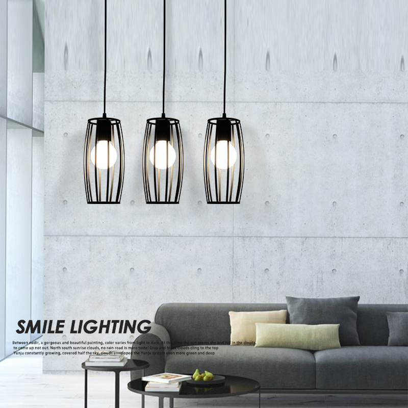 modern led pendant lights for home black bar pendant lamp hanging lights dinning room rustic pendant lamp kitchen bar light<br><br>Aliexpress