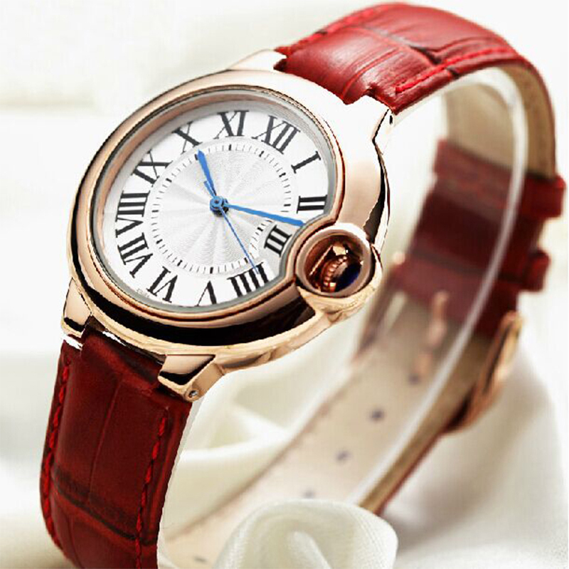 2014 high quality fashion noble ladies dress watch Casual fashion quartz Watches women Leather Strap Wristwatches <br><br>Aliexpress