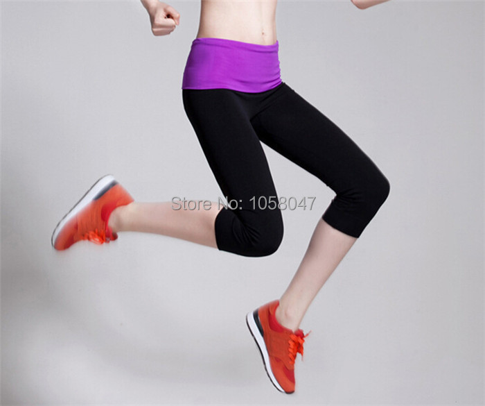 2014 Brand Jogging Ladies Sexy Sport Wear Women Pants Wholesale Sexy Breathable Girls Tights Tennies Wear(China (Mainland))