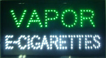 new arrival custom neon signs led neon vapor e-cigarettes sign eye-catching slogans board(China (Mainland))