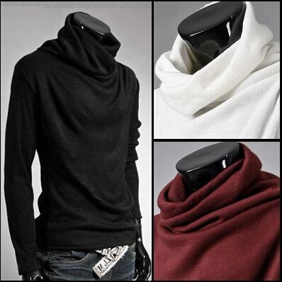 Man Fashion Slim Fit T Shirt Men Long Sleeve Clothes Autumn-Winter New 2014 L XL XXL - turn right left online shop store