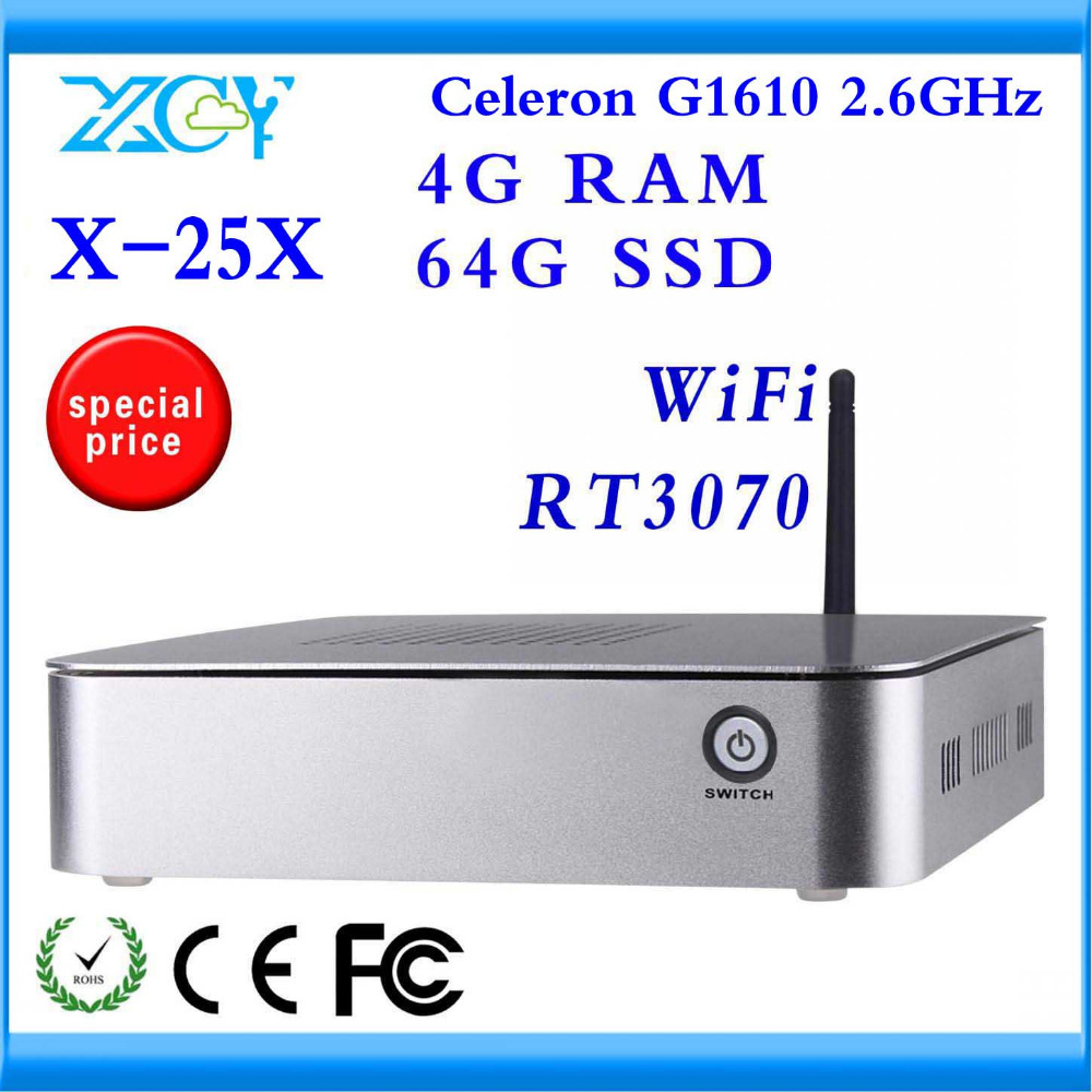 XCY Desktop Computer Factory competitive price High-performance Powerful energy-saving CPU X-25X support wireless keyboard,mouse(China (Mainland))