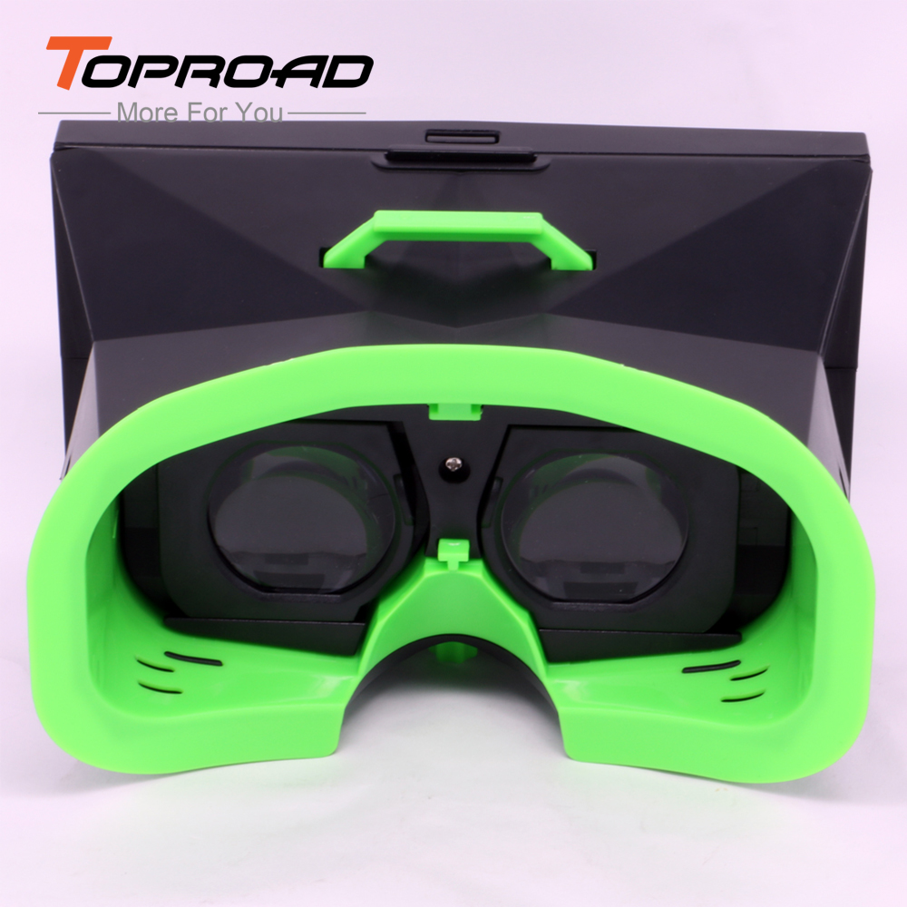 3D Glasses VR Mirror Generation Cardboard Headset 3D Virtual Reality Glasses Head Mounted Display for Smartphones iphone Samsung(China (Mainland))