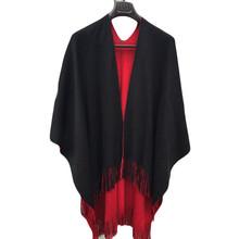 Brand Designer Knitted Scarf Women Large Shawl Winter Cashmere Poncho Scarf Women's Scarves Cardigan Autumn Sweater Coat #JO(China (Mainland))