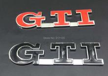 20 pieces/lot Metal GTI Emblem badges for VW Volkswagen