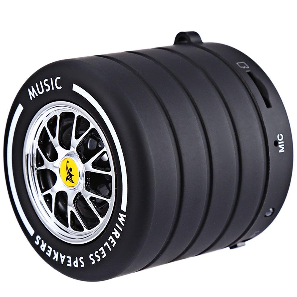 TL - 01 Mini Wireless Bluetooth 2.1 Speaker Wheel Boombox Sound Speakers Music Player Energy Saving Durable For Laptop Phone(China (Mainland))