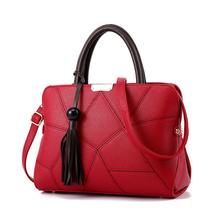 Buy New Women Fashion PU Leather Handbag High Ladies Shoulder Crossbody Bags Large Capacity Casual Tote Bolsa Feminina for $26.74 in AliExpress store