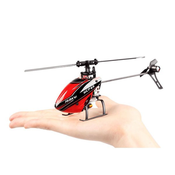 New Arrival Hisky HCP60 2.4G 6CH Mini 6 Axle Gyro Flybarless RC Helicopter RTF Model 2(China (Mainland))