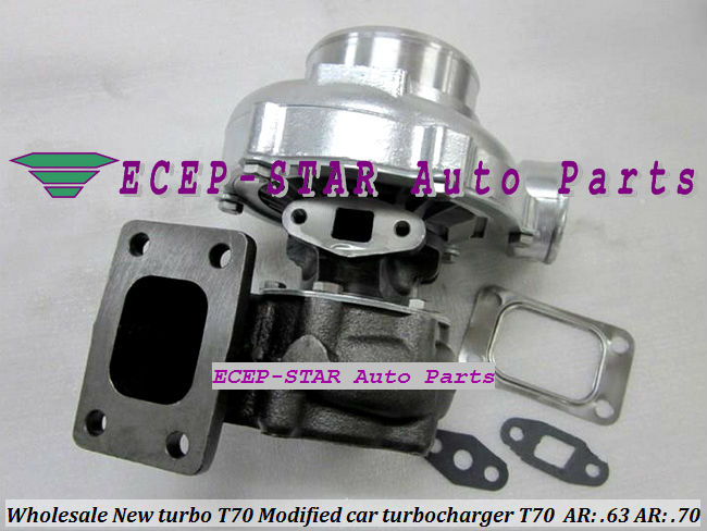 BEST SUPER T70 Turbo AR: .63 AR: .70 Turbine Turbocharger For MUSTANG Supra RX7 Civic Modified Perfect for 6 cylinder Engine(China (Mainland))