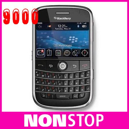 Bold 9000 unlocked original Blackberry 9000 mobile phone 3G wifi GPS One year Warranty(China (Mainland))