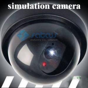 Гаджет  Fake Dummy Dome Surveillance CAM Dummy Indoor Security CCTV Camera flashing for Home Camera LED None Безопасность и защита