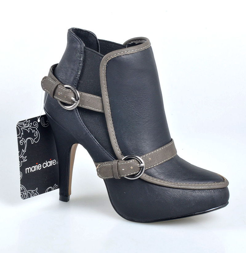 One generation Europe Marie Clair belt buckle boots and high-heeled boots female support mixed batch(China (Mainland))