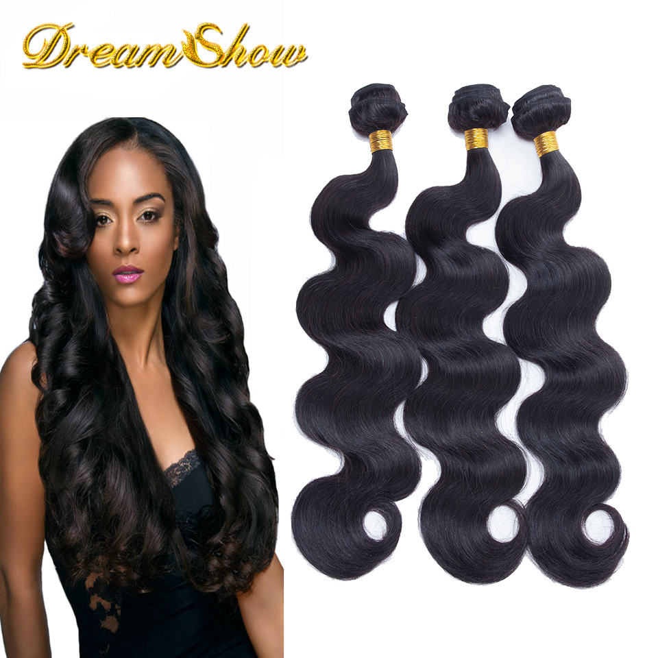 Ms Lula Hair Brazilian Virgin Hair Body Wave 3Pcs Unprocessed Brazilian Body Wave Cheap Brazilian Human Hair Weave Bundles<br><br>Aliexpress