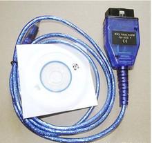 Free Shipping KKL VAG KKL OBD2 Scanner USB Interface FTDI 409.1(China (Mainland))