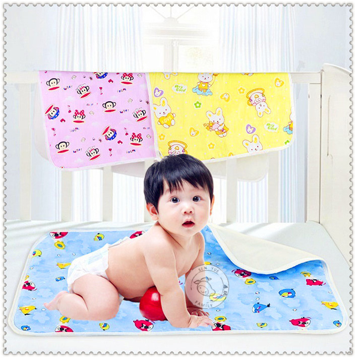 bargain price baby waterproof pad changing pad baby infant waterproof urine Mat baby cover burp urinal pad bed ER135